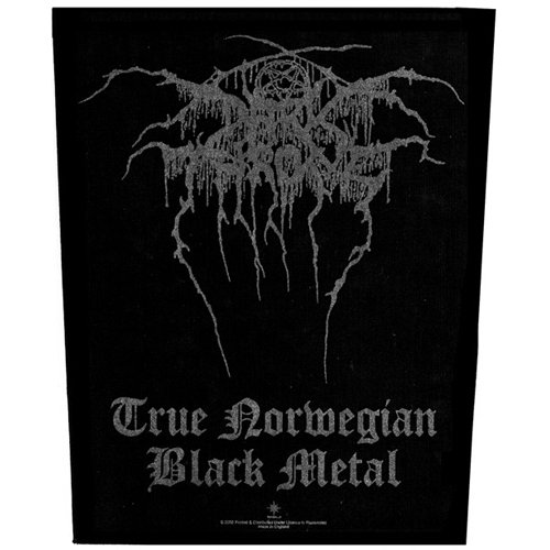 Darkthrone - Backpatch Norweigan (in 23,5 cm x 20 cm)
