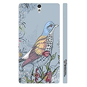 Sony Xperia C5 Pisces Blue designer mobile hard shell case by Enthopia