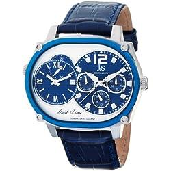 Joshua & Sons JS-29-04 - Reloj de pulsera hombre, color Azul