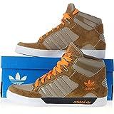 adidas Originals Herren Hardcourt Hi-Top-Sneaker. (Q22029 Kinder Turnschuhe, 100 Braun braun 40