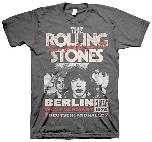 Night spread Berlin Tour of Europe '76 Adult T-shirt Tour-threads Shirt