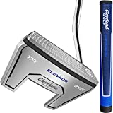 Cleveland Golf 2135 satiné Elevado surdimensionné Grip Putter, Homme, 2135 Satin, Red, grand