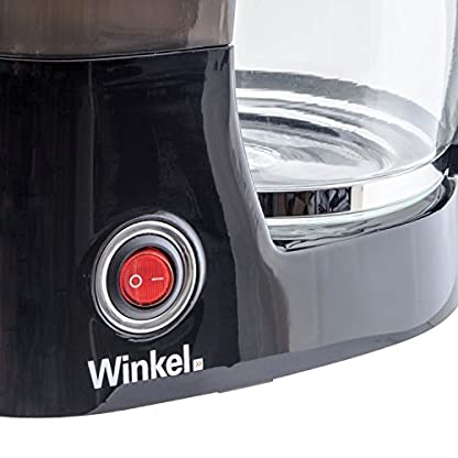Winkel-KF12-Filterkaffeemaschine-125-L-Tank-10-12-Tassen-Warmhaltefunktion-Tropfstopp-schwarz