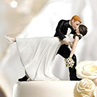 Cake topper ballo romantico - Sposo In Porcellana Wedding Cake Topper