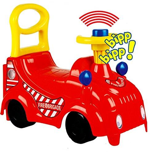 *Rutschfahrzeug Feuerwehr aus hochwertigem Kunststoff*