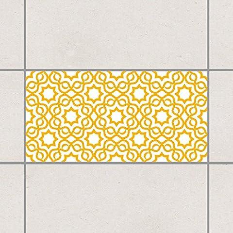 Fliesenaufkleber - Islamic White Melon Yellow 30cm x 60cm, Setgröße:20teilig