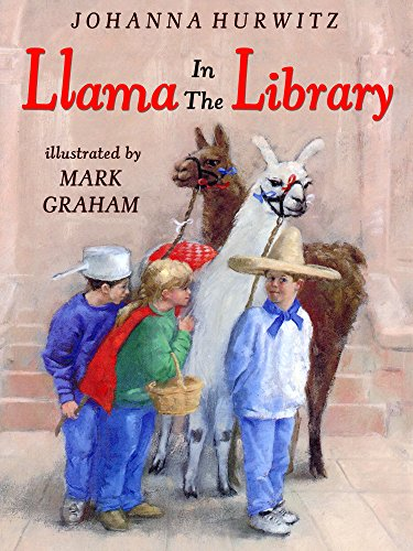 Llama In The Library