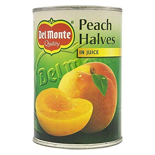 Del Monte Peach moitiés dans Juice (415g) - Paquet de 2