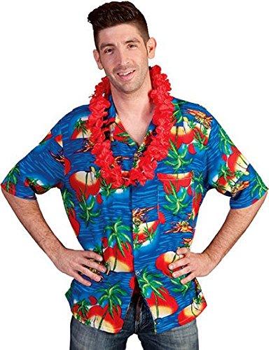 Hawaii Hemd, Flower Hemd Beach Party Hawai Hemd Größe (Party Funny Beach Kostüme)