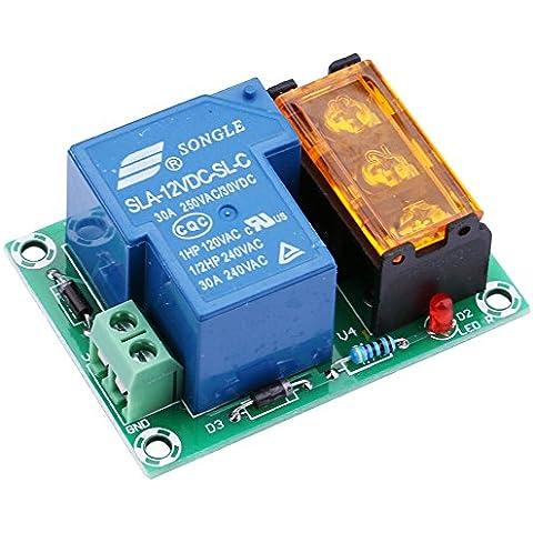 Yeeco Normalmente Aperto Normalmente Chiuso 30A High Current Staffetta Produzione Staffetta Controllo Modulo Energia Interruttore 12V DC Elettrico Attuale Amp Trasferimento per Dispositivo di Raffreddamento / Riscaldamento Più Fresco Riscaldatore Rimontare Acqua Riscaldatore Controllo