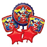 Amscan International 8439660,5cm DC Super Hero Girls Bouquet de Ballon en...