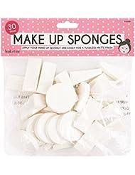 Pack of 30 Wedge Make Up Blenders/Sponges