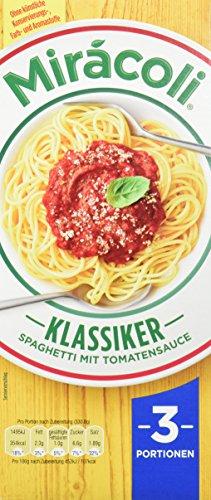 Mirácoli Spaghetti 3 Portionen Klassiker mit Tomatensauce, 5 x 397 g