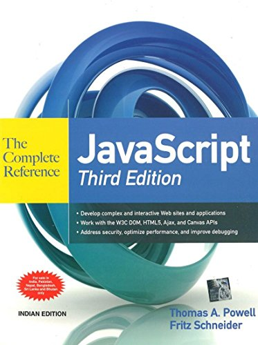 JavaScript: The Complete Reference