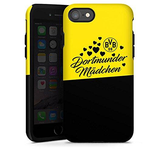 Apple iPhone 6 Plus Hülle Case Handyhülle BVB Borussia Dortmund Dortmunder Mädel Tough Case glänzend