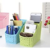 FastUnbox Multi-Color Compact Basket For Multi-Purpose Use, Kitchen, Bathroom, Office, Home