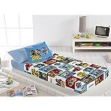 PAW PATROL - Sábanas Patrulla Canina cama 90 modelo 2