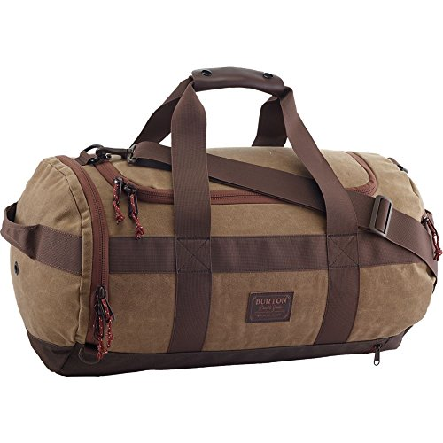 Burton Unisex Reisetasche Backhill, beagle brown waxed canvas, 51 x 31 x 31cm, 40 liter, 14520100206