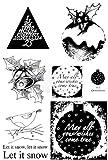 Crafty Impressions A6Sheila Hackett A Home mit Freude Erfüllt Stempel May All your Wishes durchsichtig