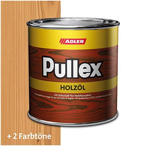 ADLER Pullex Holzöl Außen - Universell einsetzbar für senkrechte Holzflächen im Außenbereich - Holzpflege & Holzschutz auf Basis natürlicher, veredelter Öle - Farbe Natur/Farblos 750ml