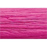 Knorr Prandell 8534024 30 m bobinas de rafia, 1 unidades, rosa brillante