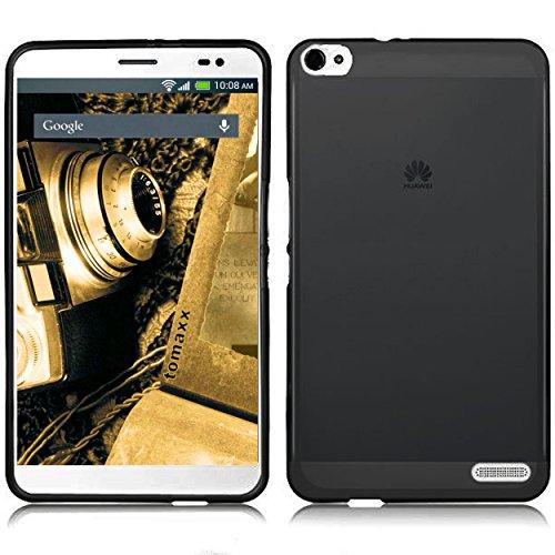 tomaxx Hülle für Huawei Mediapad X2 Tablet-PC Schutzhülle Tasche transparent schwarz