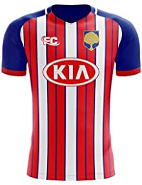 Fans Culture 2018-2019 Atletico Madrid Home Concept Football Soccer T-Shirt Camiseta