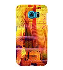 Music Strings 3D Hard Polycarbonate Designer Back Case Cover for Samsung Galaxy S6 Edge+ G928 :: Samsung Galaxy S6 Edge Plus G928F
