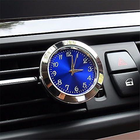 Voiture métal réveil/voiture/véhicule montres à quartz/Calendrier/horloge électronique véhicule/véhicule modifié le tableau électronique/d'accessoires pour automobiles, de l'argent