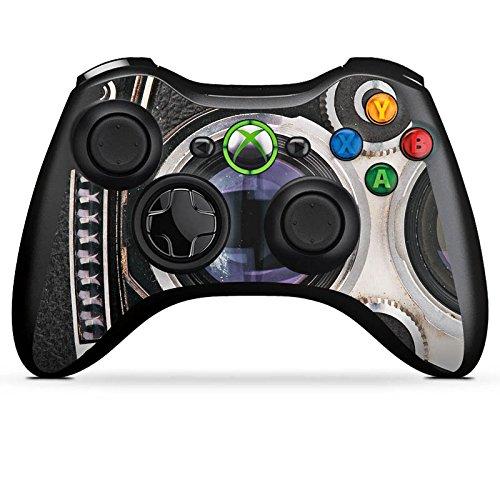 DeinDesign Microsoft Xbox 360 Controller Folie Skin Sticker aus Vinyl-Folie Aufkleber Kamera Fotografie Retro (Xbox Grafik 360-controller)