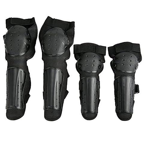 Zcare 4 Pcs / 2Pcs Kit Motocross Coudes et genoux