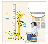 iusun Fashion Kinder Raum Aufkleber Wand Stiker Kindergarten Höhe Wachstum Diagramm Decor Abnehmbare