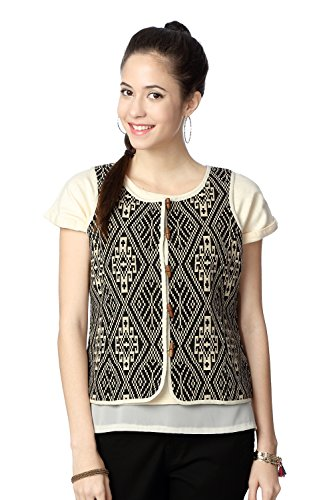 People Women's Regular Fit Outerwear_ P10202111621100_s_ Black