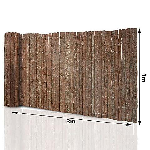 Canisse Bambou 3x1 5m - Brise -vue bois casa pura® canisse occultant