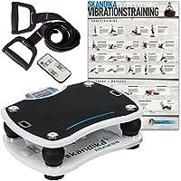 Preisvergleich für skandika Home Vibration Plate 500 Vibrationsplatte, weiß, M