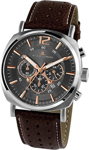 Jacques Lemans Herren-Armbanduhr 1-1645H
