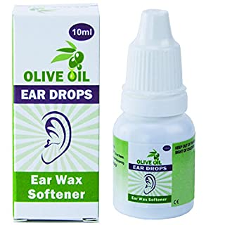 JFA Medical Ear Wax Remover Olive Oil Drops 10 ml - Pack of 3