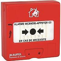 kau KAU534115 Déclencheur Manuel Conventionnel, 240 V, Rouge