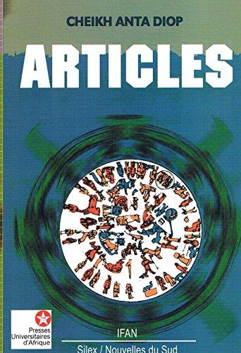 Articles par Cheikh Anta Diop