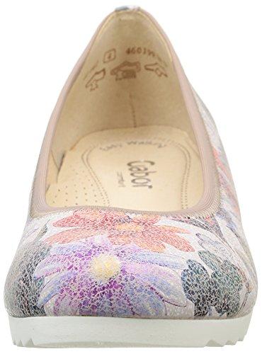 Gabor42-641-40 - Ballerine Donna Multicolore (Mehrfarbig (40 multicolor (Jute)))