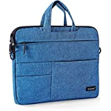 """TGK® Okade Laptop Bag Sleeve Bag Carrying Case Cover Pouch Waterproof Laptop Messenger Hand Bag For 13"""" Inch 13.3"""" Inch MacBook 13 Inch 13.3 Inch All 12 To 13 Inch Laptops And Tablets (Velvet - Blue)"""