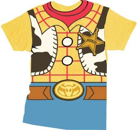 Toy Story Woody Cowboy Kostüm Banana gelb Erwachsene T-Shirt XX-Large
