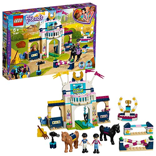LEGO 41367 Friends Stephanie's Horse Jumping Playset, Mini-dolls and Acessories, Toy Horse Stable Sets for Kids Best Price and Cheapest