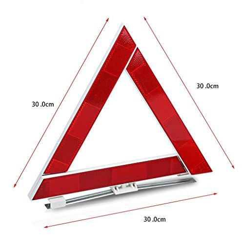 Auto Kit d'urgence avec Jumper Câbles, corde de remorquage, Triangle de sécurité, lampe de poche, marteau fenêtre