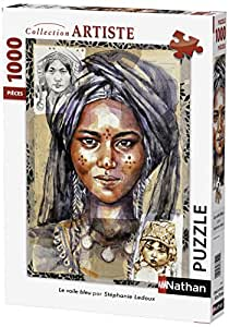 Nathan - 87465 - Puzzle - Le voile bleu - 1000 pièces