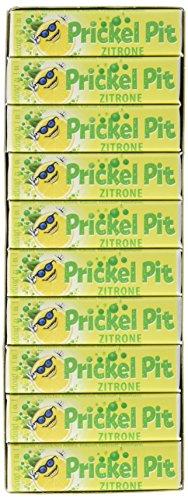 Prickel Pit Zitrone Brause Bonbons 50 Riegel, 2er Pack (2 x 475 g)