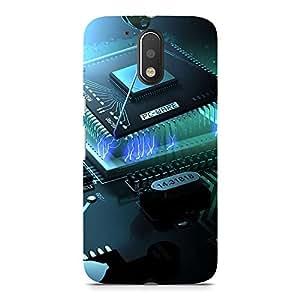 Hamee Designer Printed Hard Back Case Cover for Meizu Pro 6 Plus Design 4620