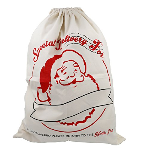 Trixes Saco Grande Blanco Cordones Navidad, Estafeta