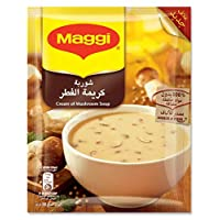 Maggi Cream of Mushroom Soup, Box of 12 Pieces (12 x 68g)