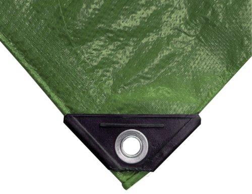 NOOR Abdeckplane EASY 90g/m² I 200 x 300 cm I Allzweckplane für Schutz vor Witterung I Ideal geeignet für die Abdeckung im Garten I UV-stabilisiert, beidseitig beschichtet, wasserfest und abwaschbar
